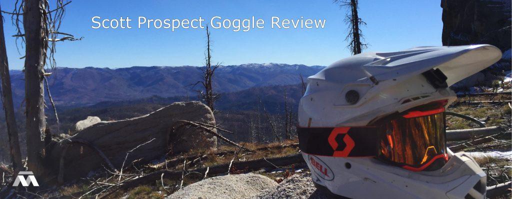 Scott Prospect Goggle Review