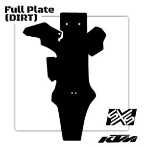 sxs slide plate
