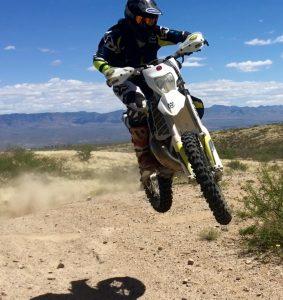 Dante Harmony Bike Check – Husky TE300