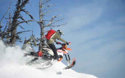 snowbike parts