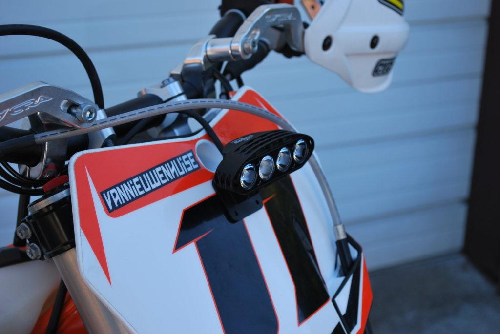 Cyclops Explorer Dirt Bike And Snowbike Light Battery