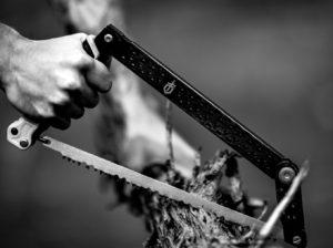 Trail Tech Chainsaw Mount, Gerber Trail Saw & Folding Shovel
